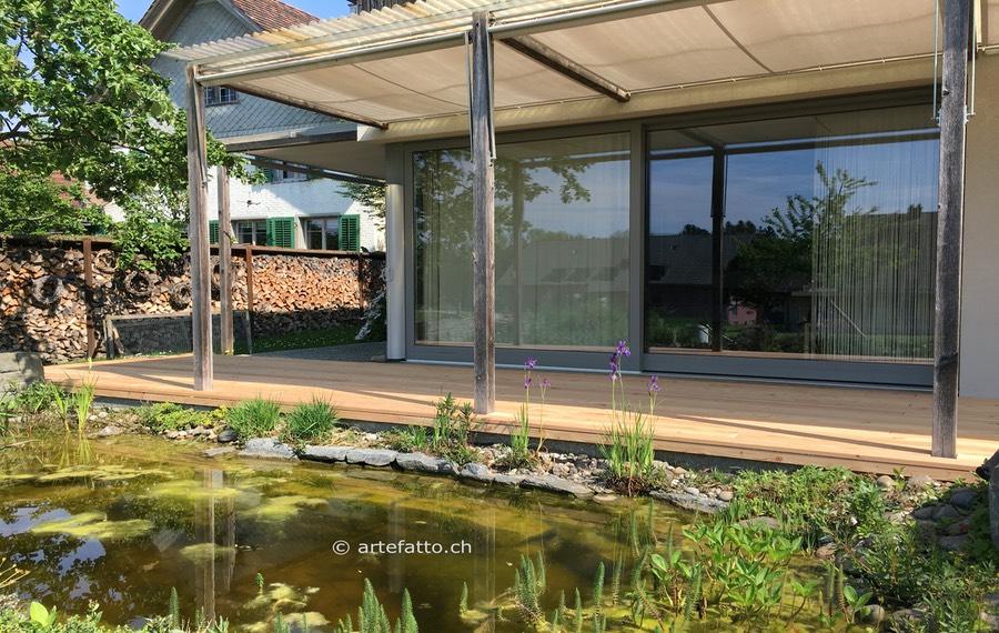 holz terrasse, gute holzterrassen halten 40% länger | artefatto handwerk, Design ideen